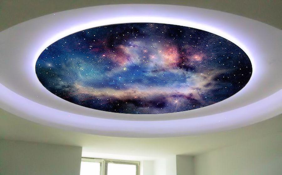 тому же, звездное небо фотопечать натяжные потолки каталог счет добавления